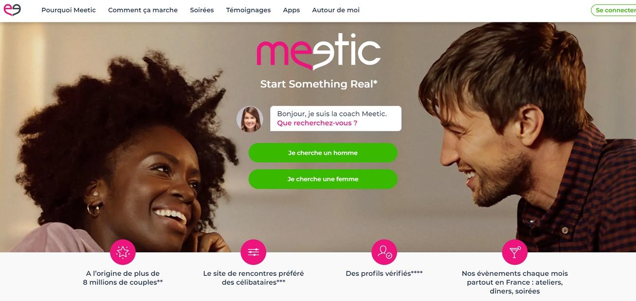 Présentation du site de rencontre Meetic