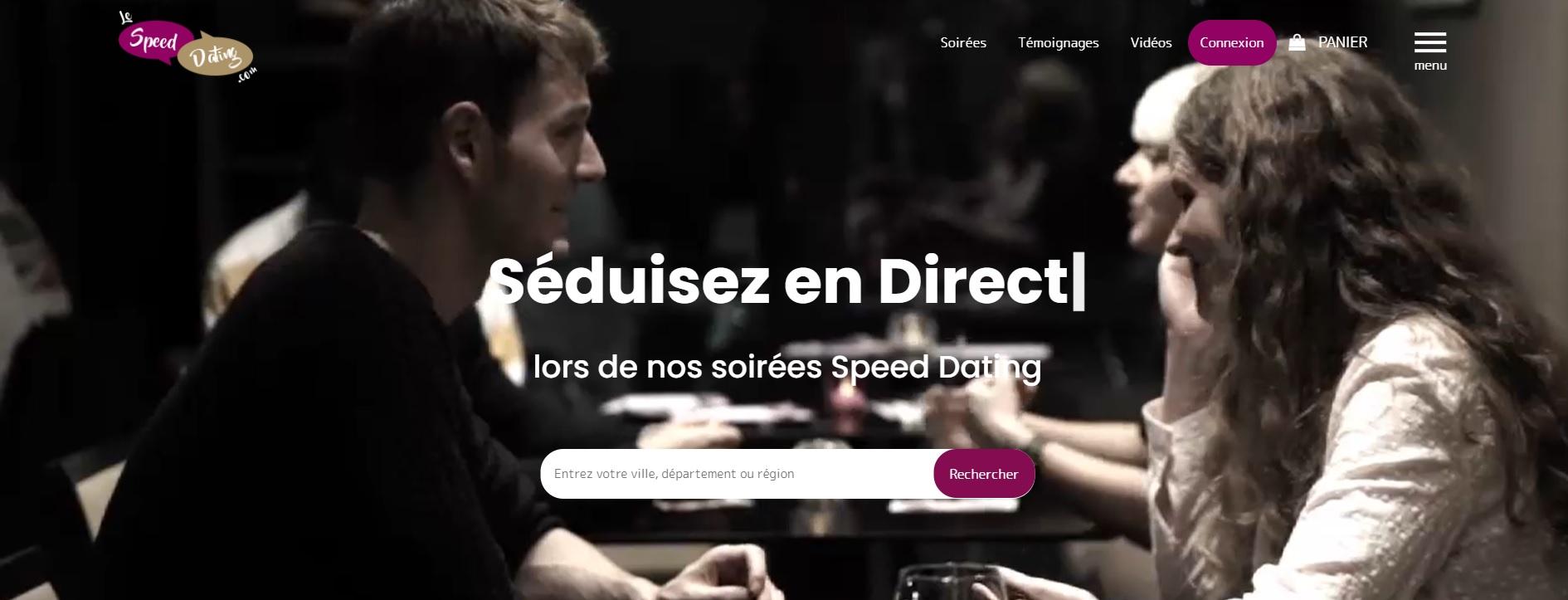 Lespeeddating.com pour trouver des soirées en France et dans sa ville